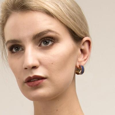 Palermo Oval Earring