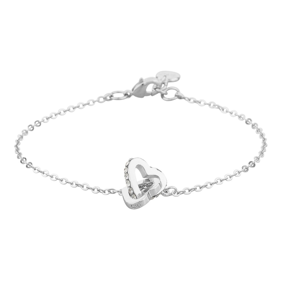 Connected Chain Bracelet Heart