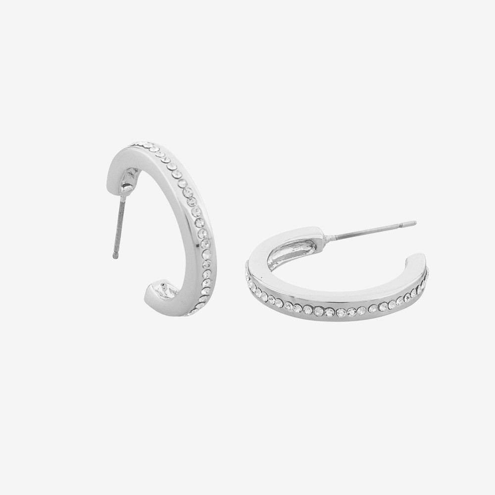 Vertical Oval Earring