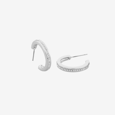 Vertical Small Oval Earring
