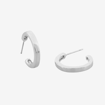 Vertical Oval Earring