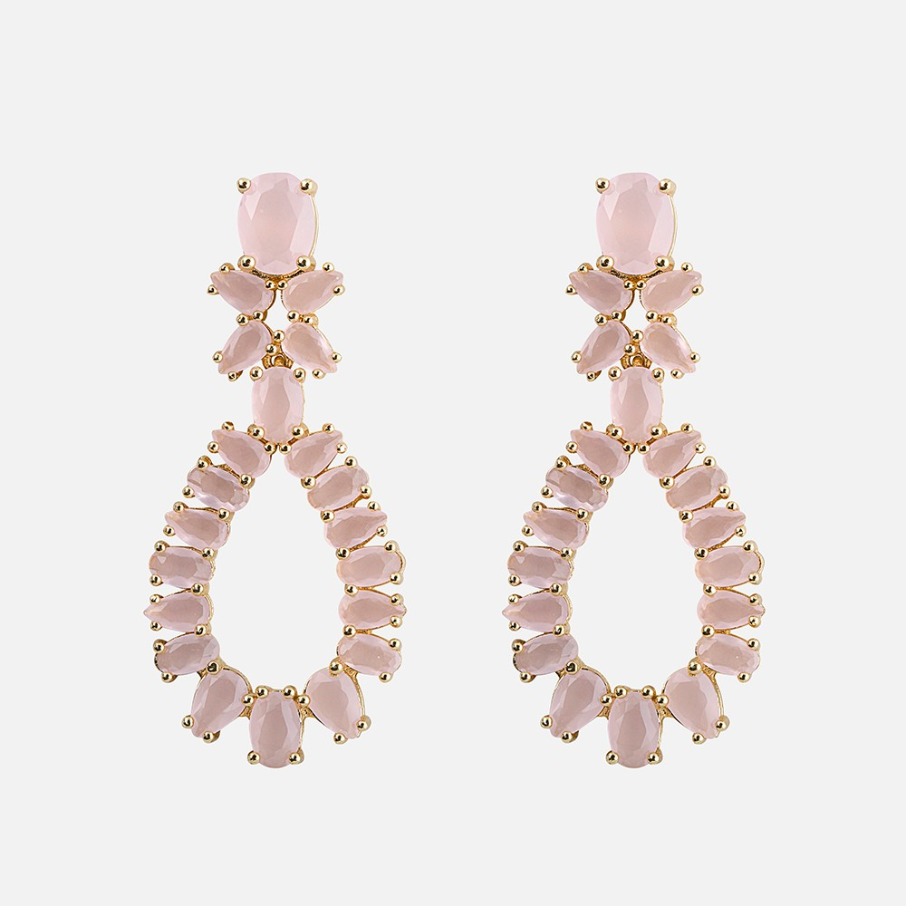 Judith Drop Pendant Earring