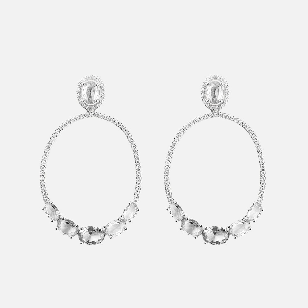 Judith Stone Pendant Earring
