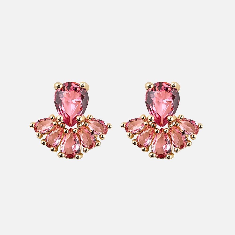 Judith Stone Short Earring