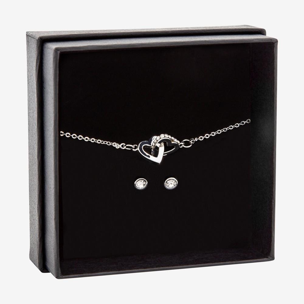 Gift Box Bracelet Clear