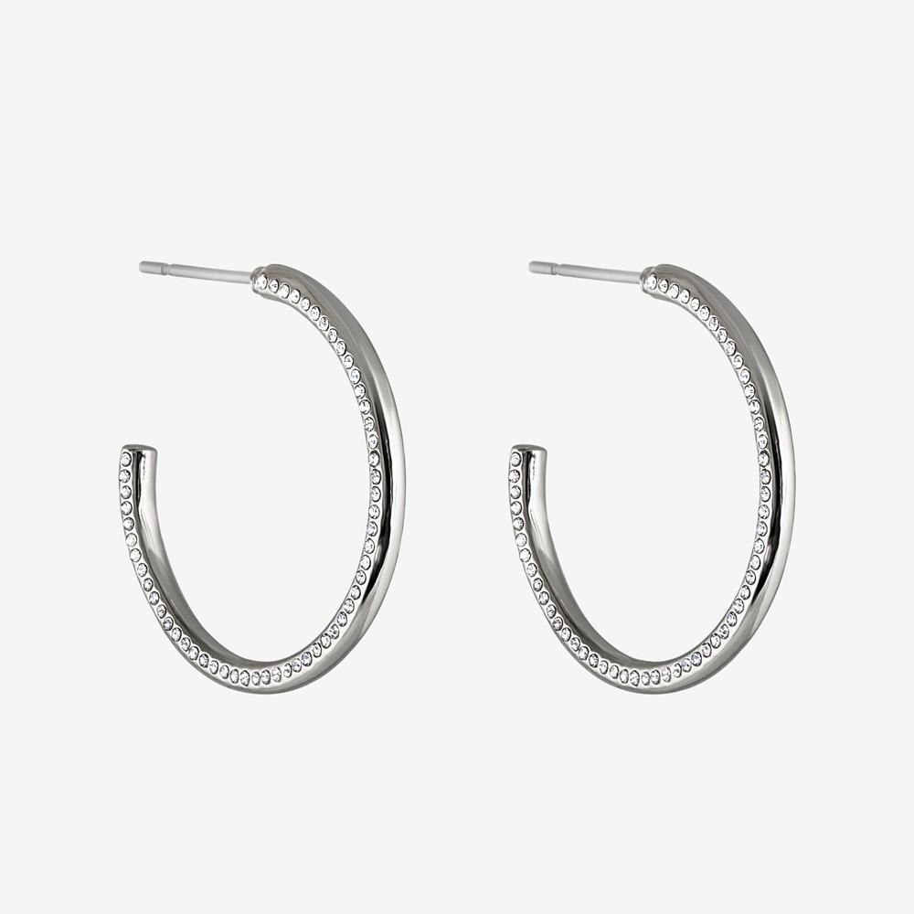 Adara Big Oval Earring