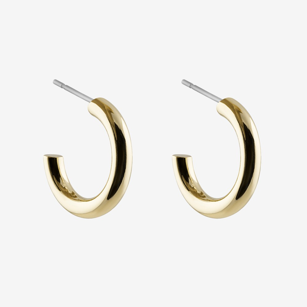 Adara Small Oval Earring