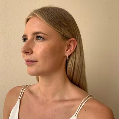 Adara Small Oval Earring