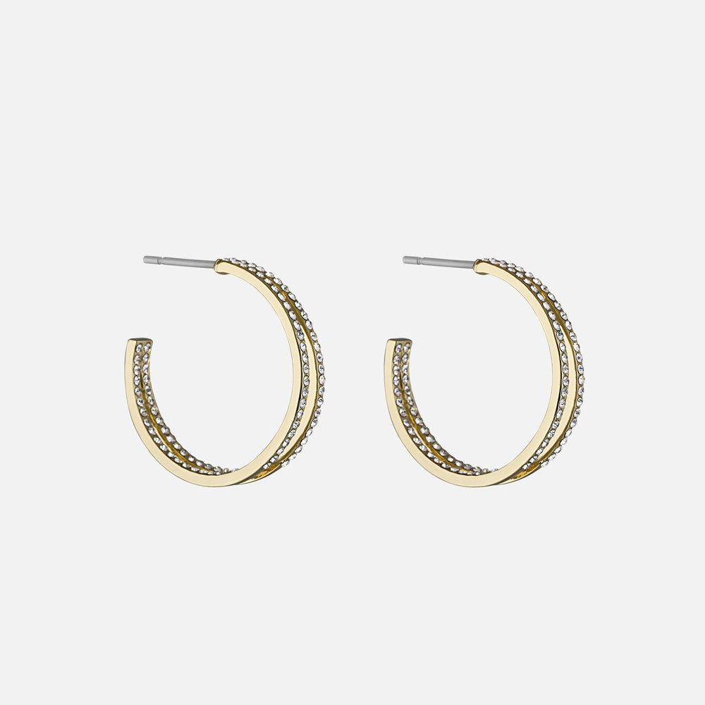 Carrie Big Oval Earring