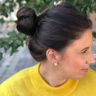 Key Small Earring