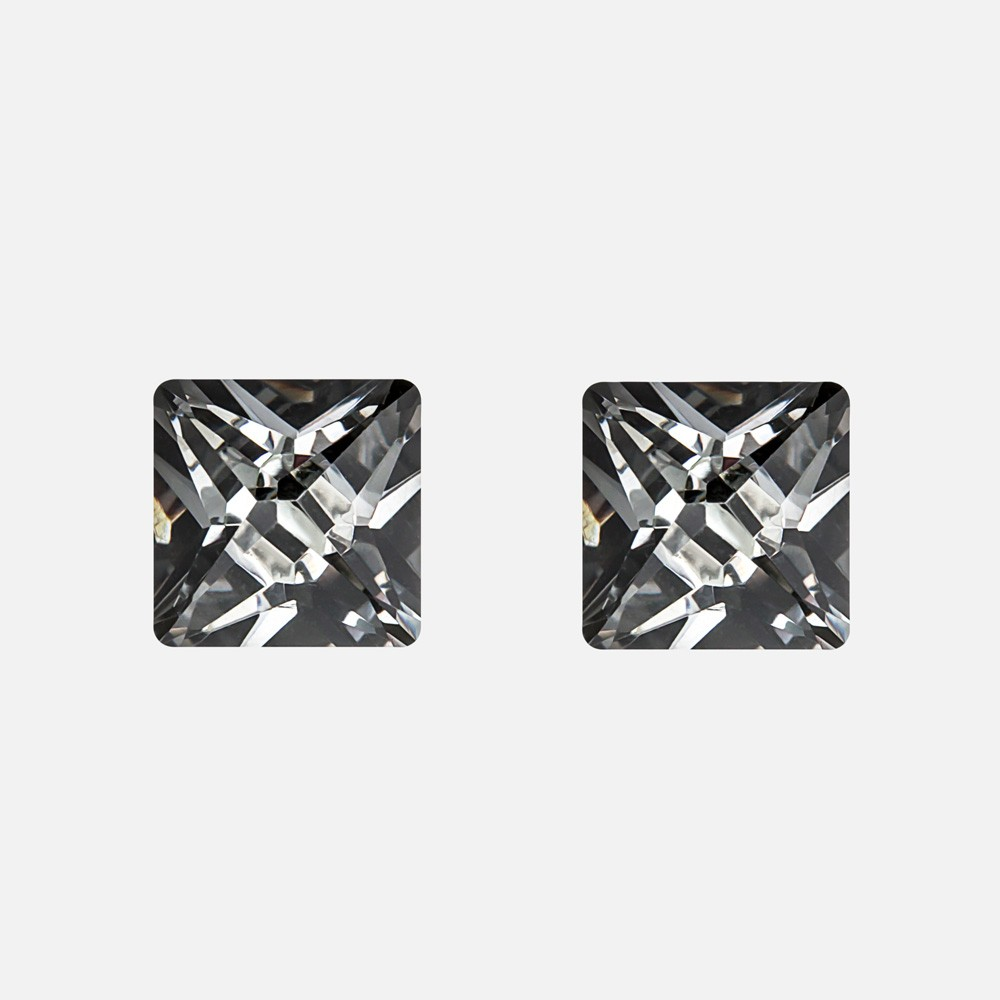 Trio Square Earring