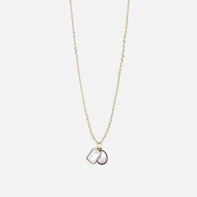 Twice Pendant Necklace