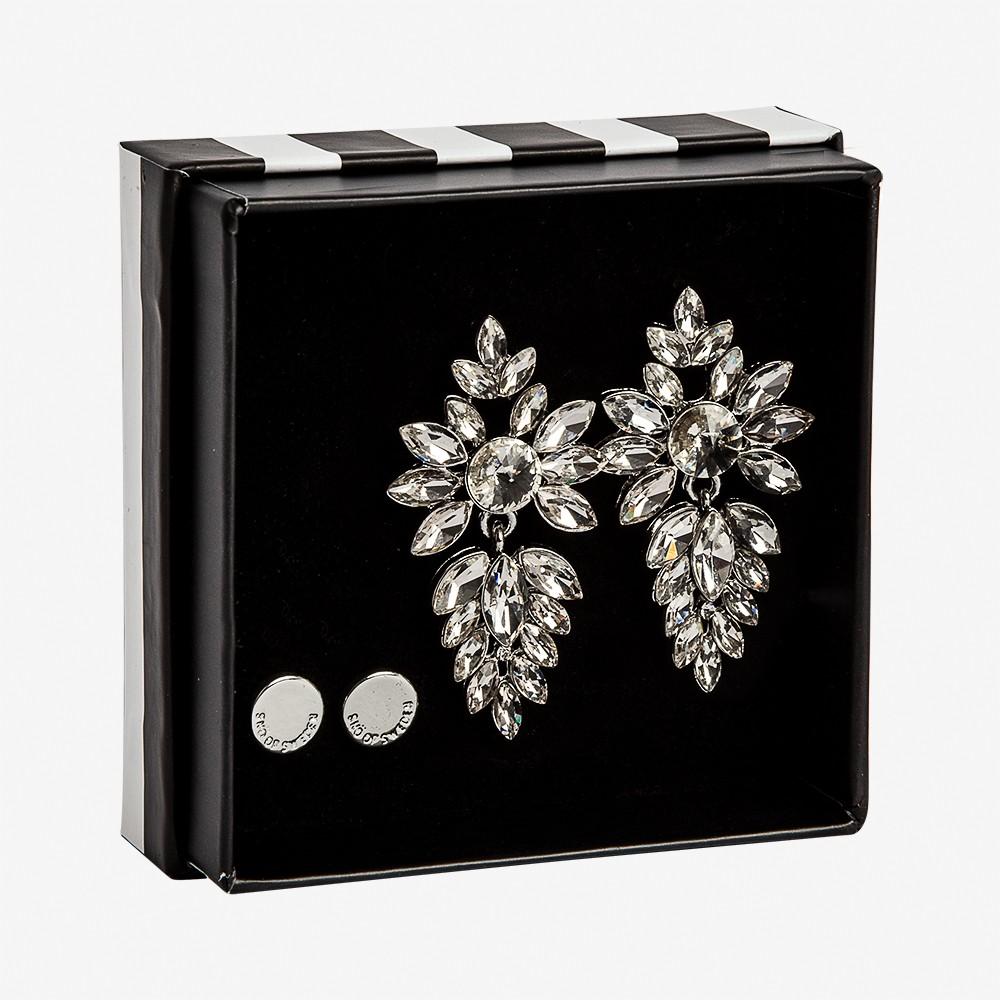 Gift Box Earring Rush Clear