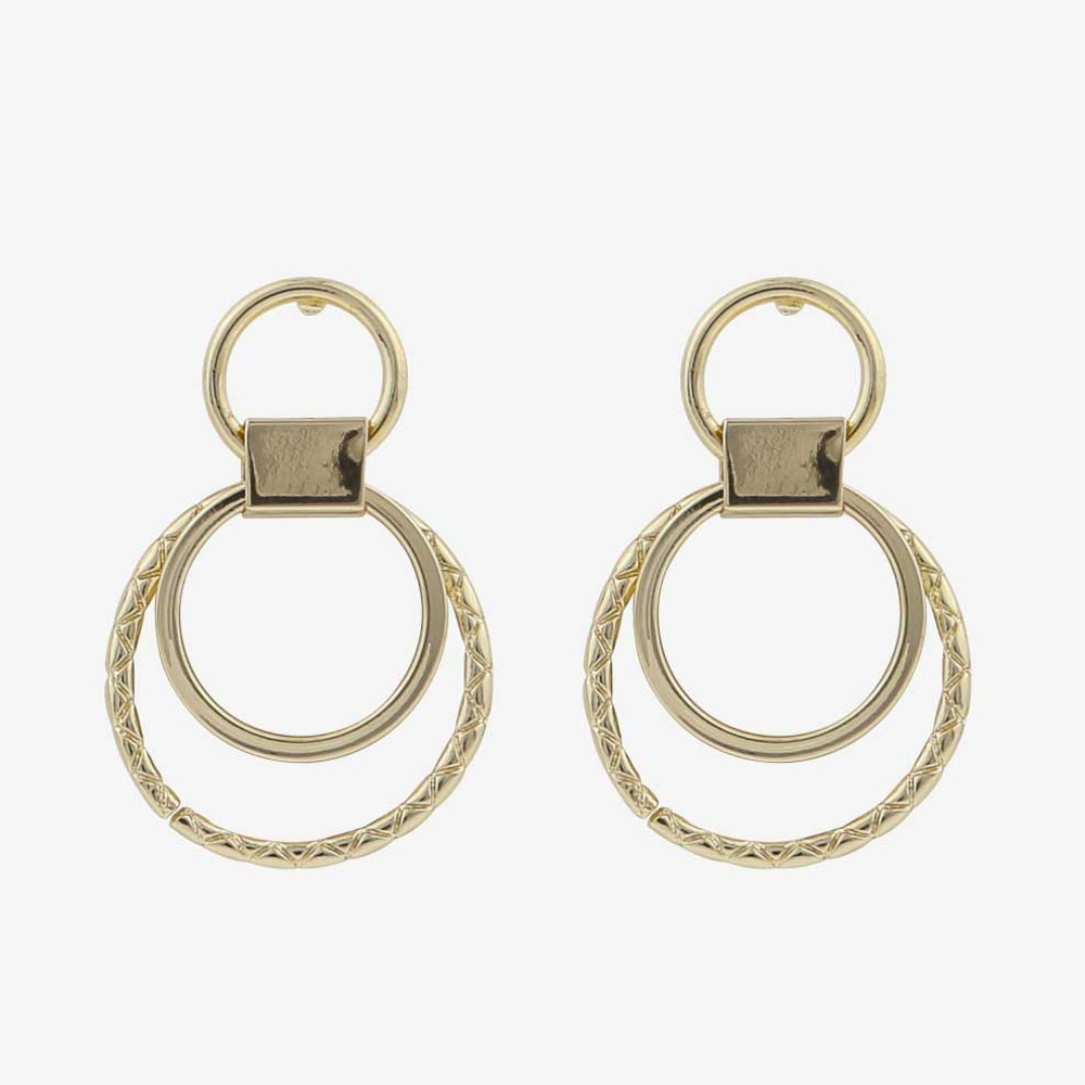 Capella Small Round Earring