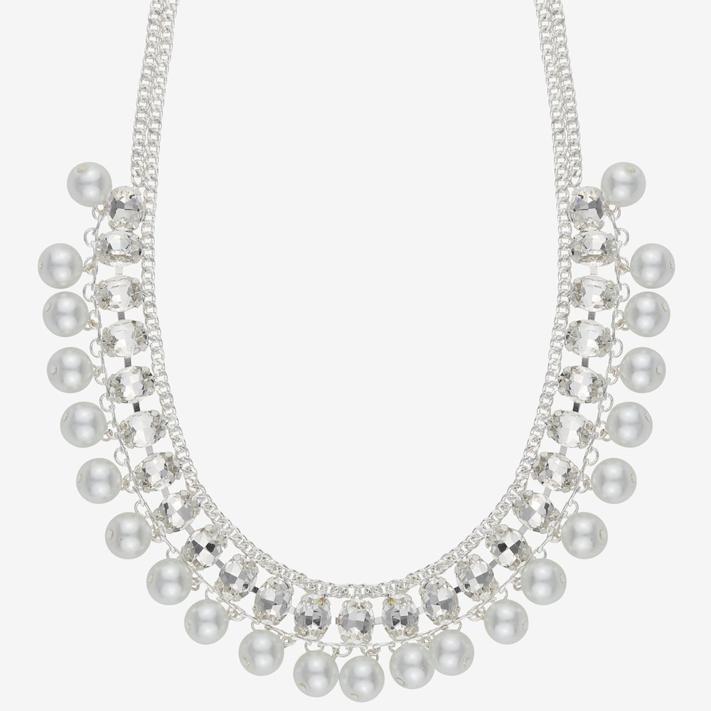 Chloé Big Strass Necklace