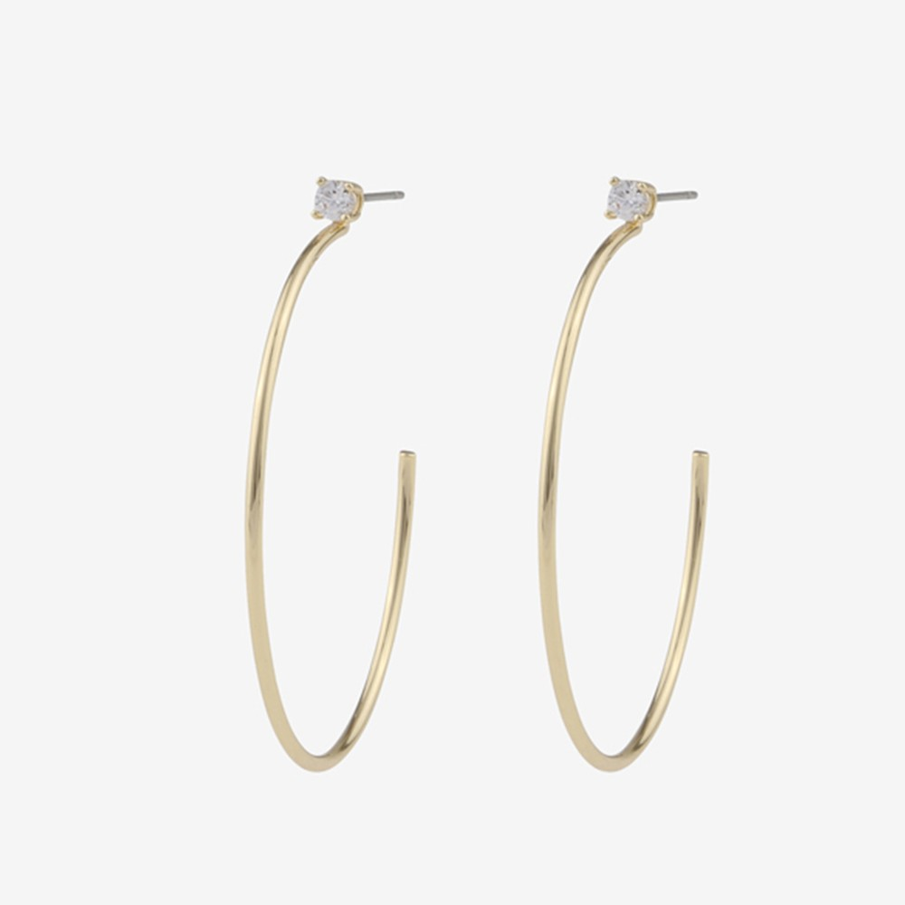 Duo Big Ring Earring