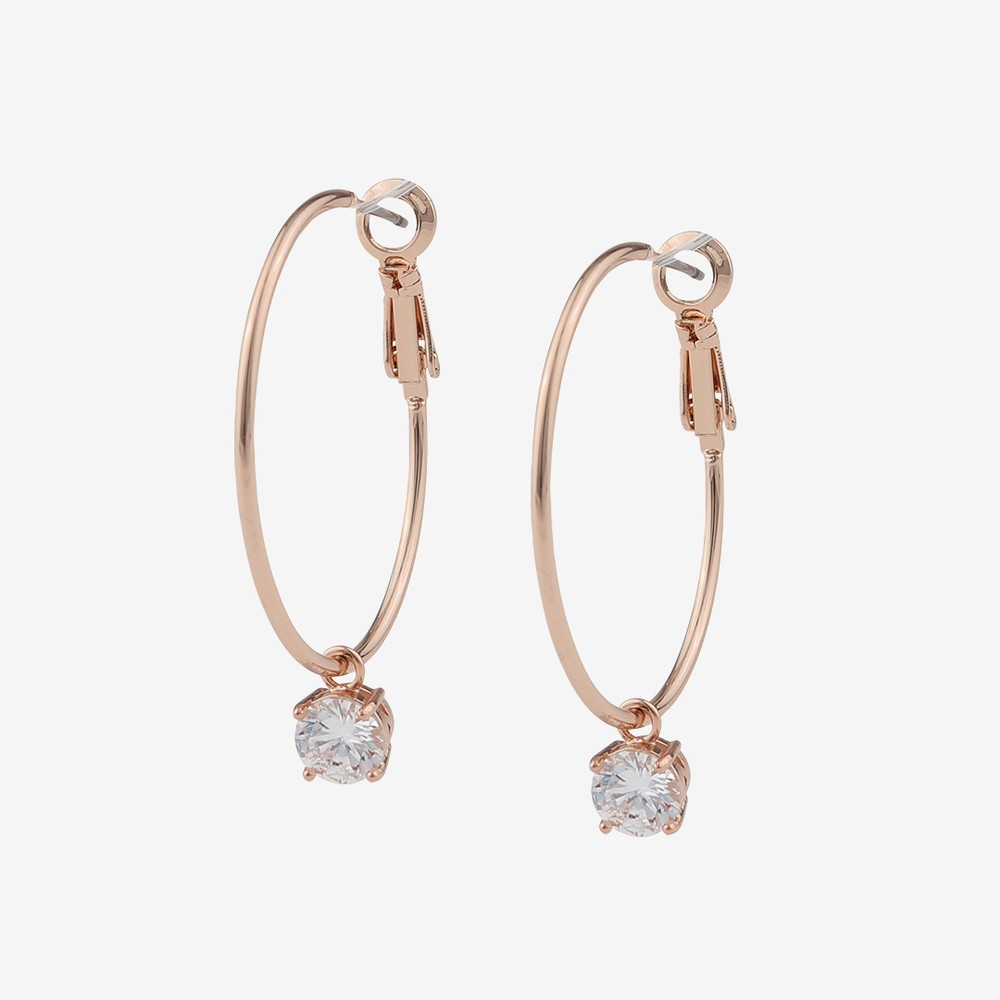 Duo Round Earring