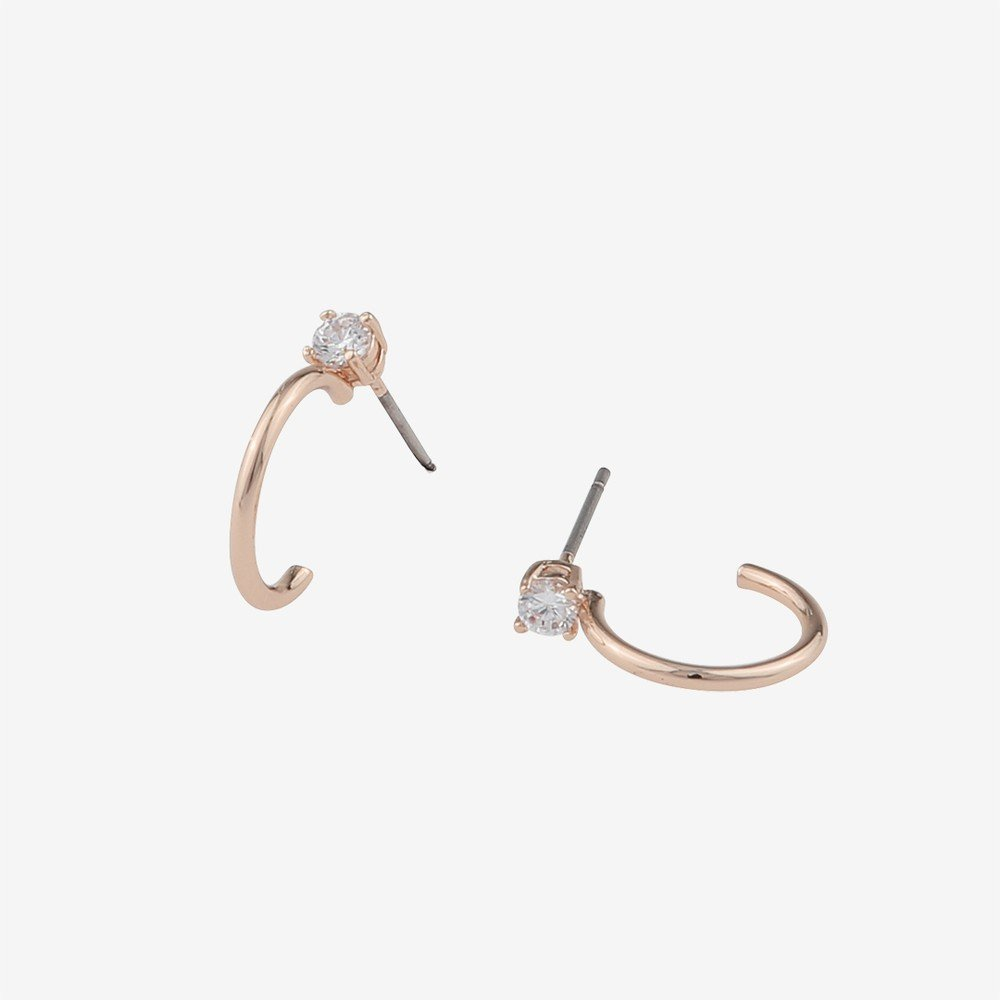 Duo Small Ring Earring