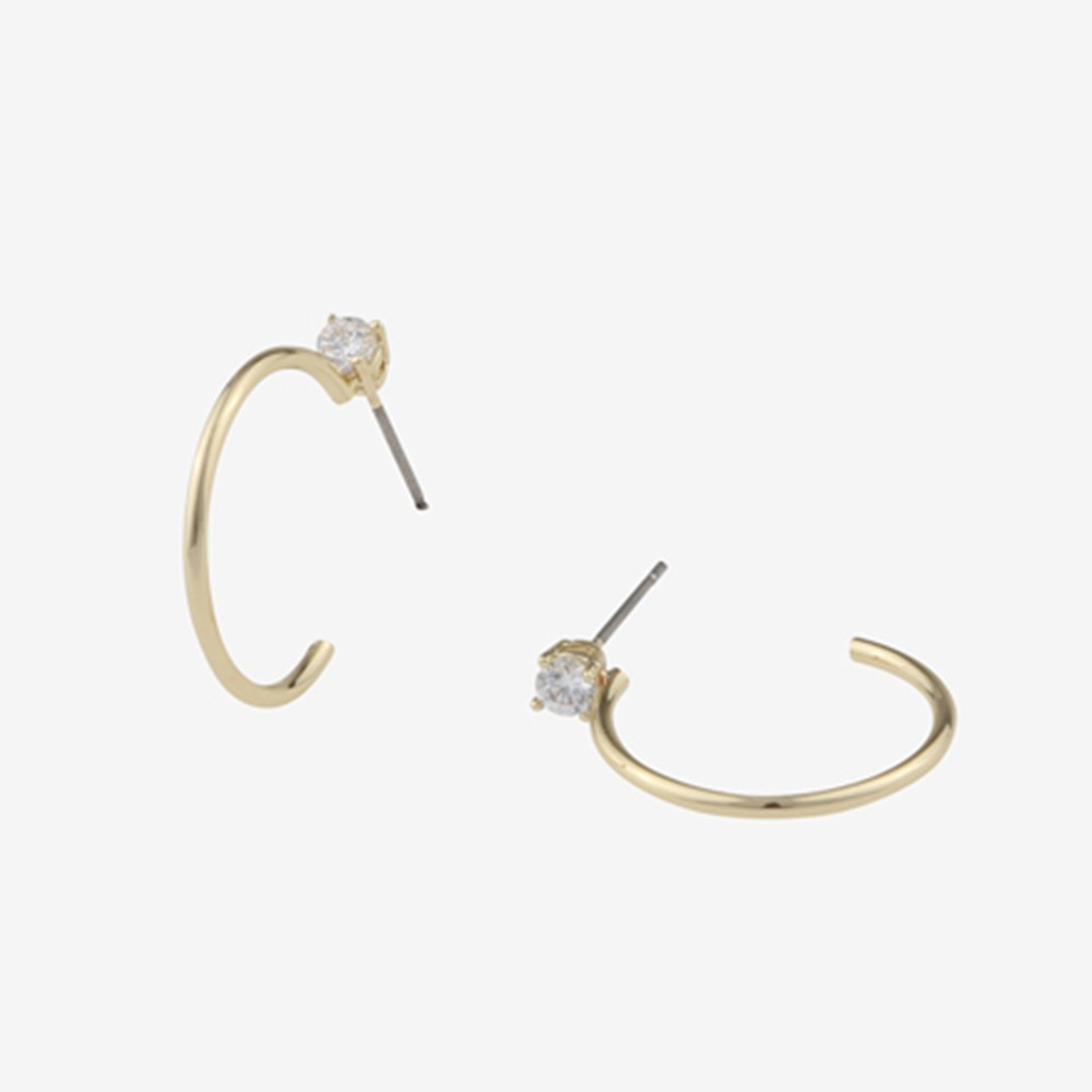 Duo Ring Earring