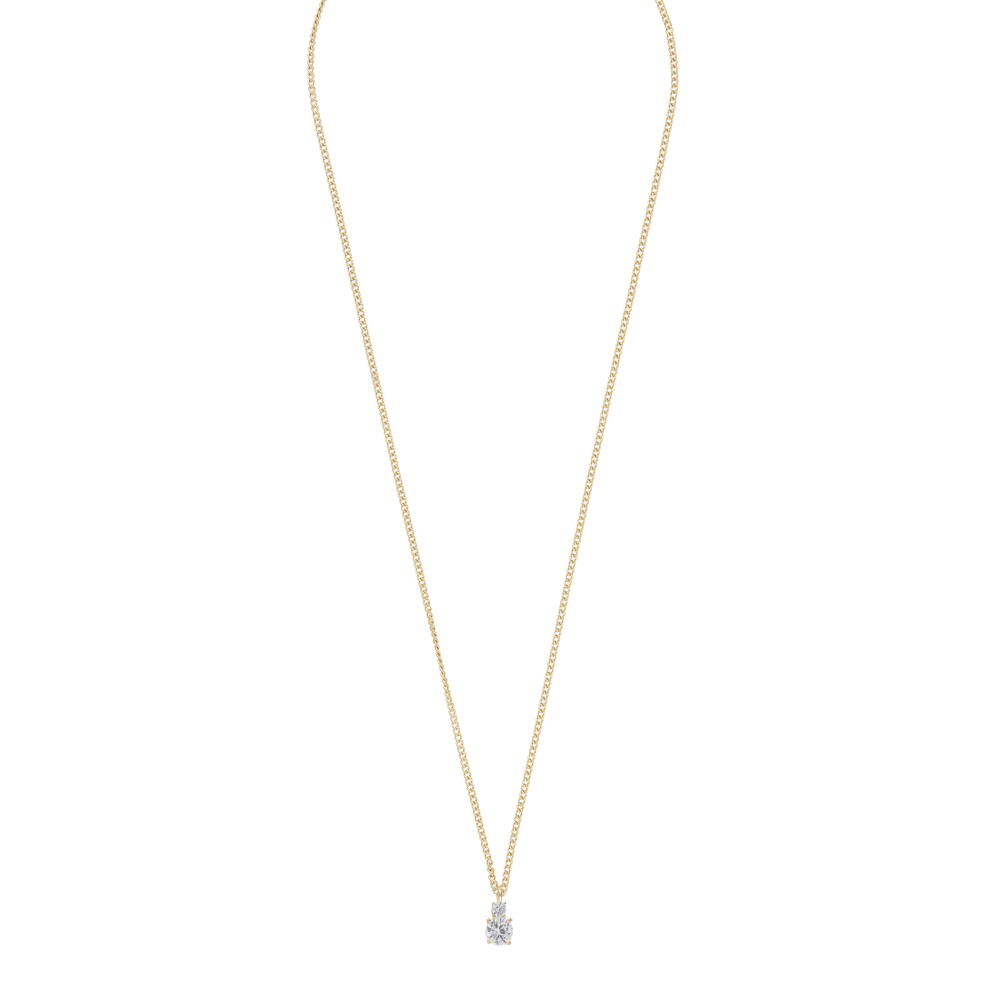 Duo Small Pendant Necklace