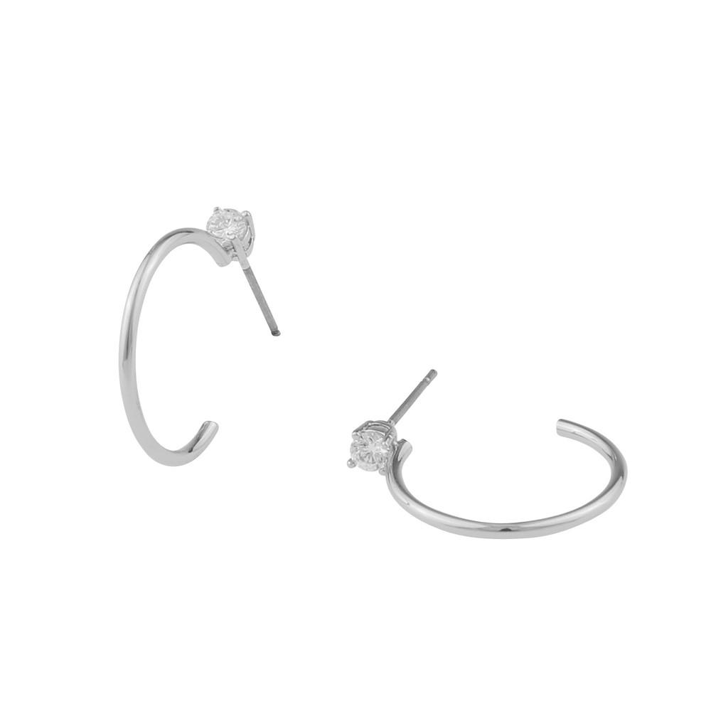 Duo Ring Earring