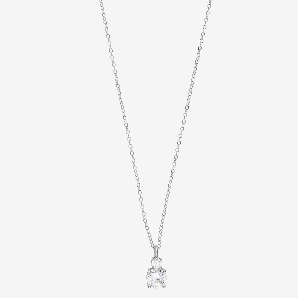 Duo Pendant Necklace