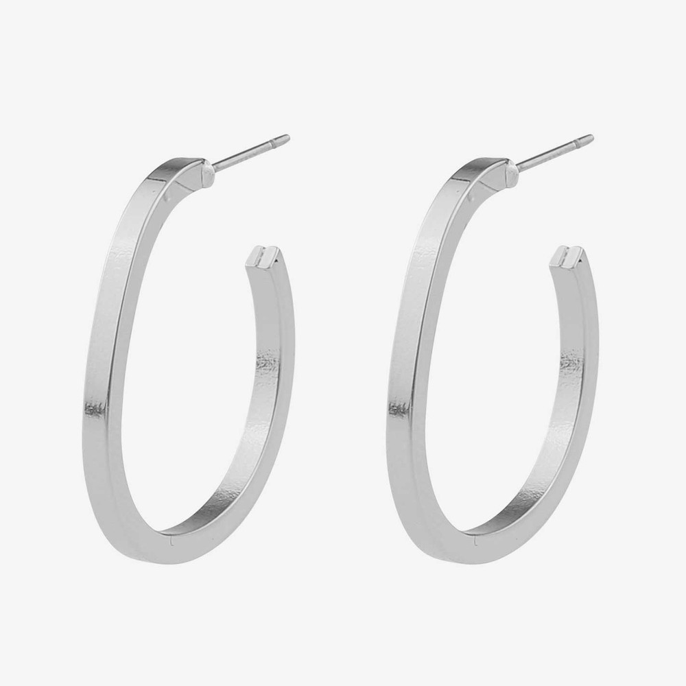 Hour Small Oval Earring