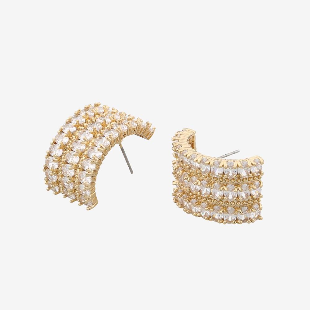 Kathy Oval Earring