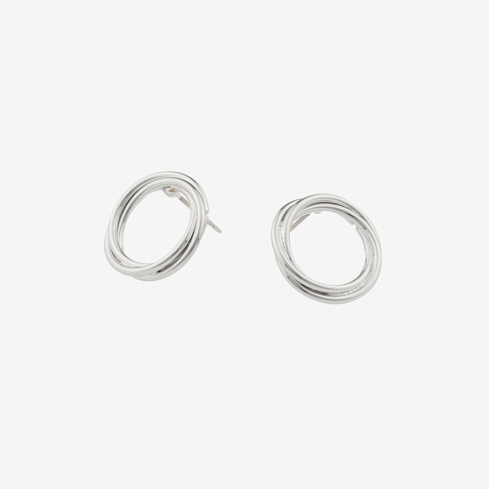 Mila Small Round Earring