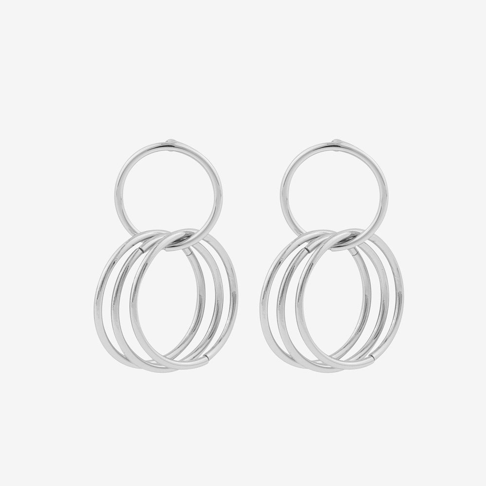 Mila Small Pendant Earring