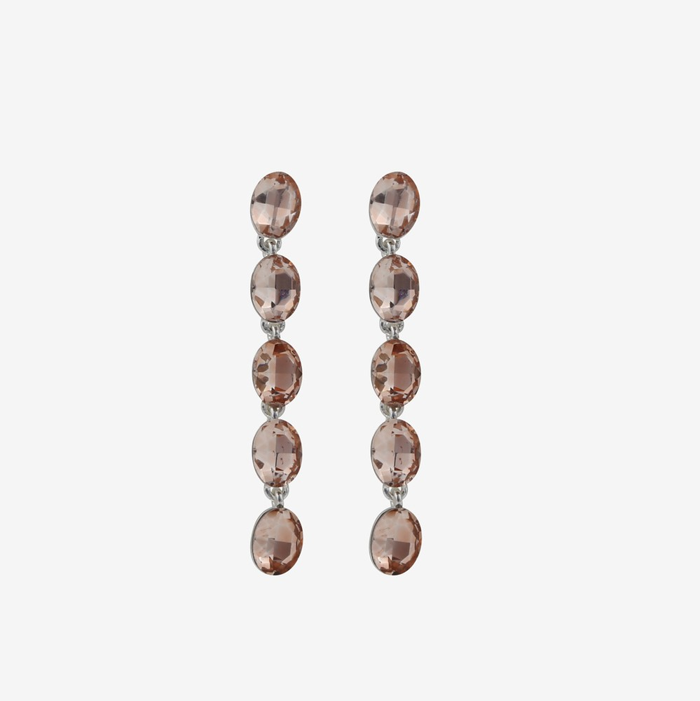 Novalie Oval Long Earring