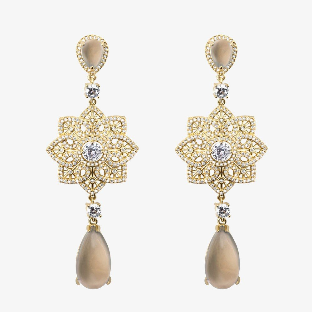 Oscar Small Long Earring