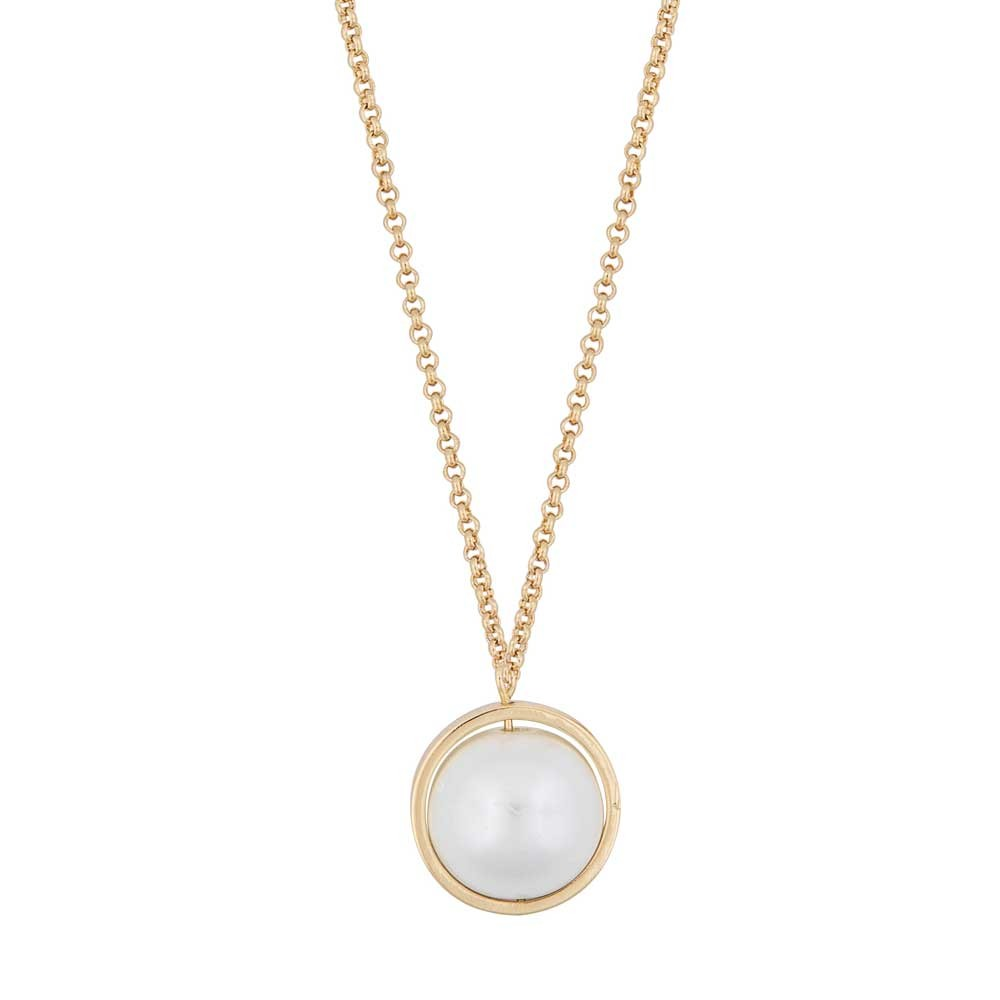 Donna Globe Pendant Necklace