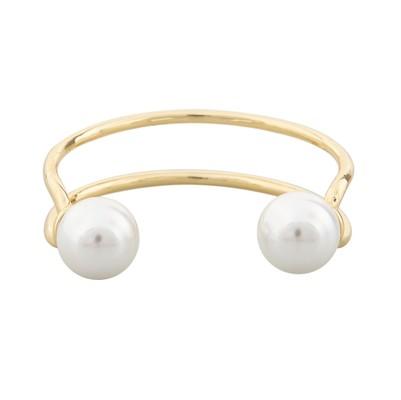 Donna Pearl Oval Bracelet