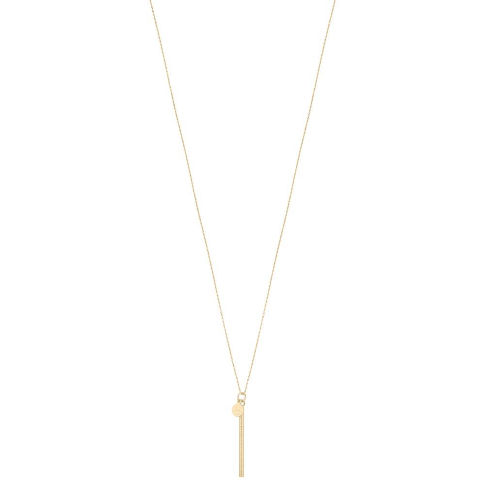 Lynx Long Pendant Necklace