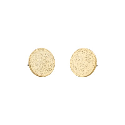 Lynx Small Coin Earring