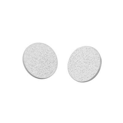 Lynx Small Coin Pendant Earring