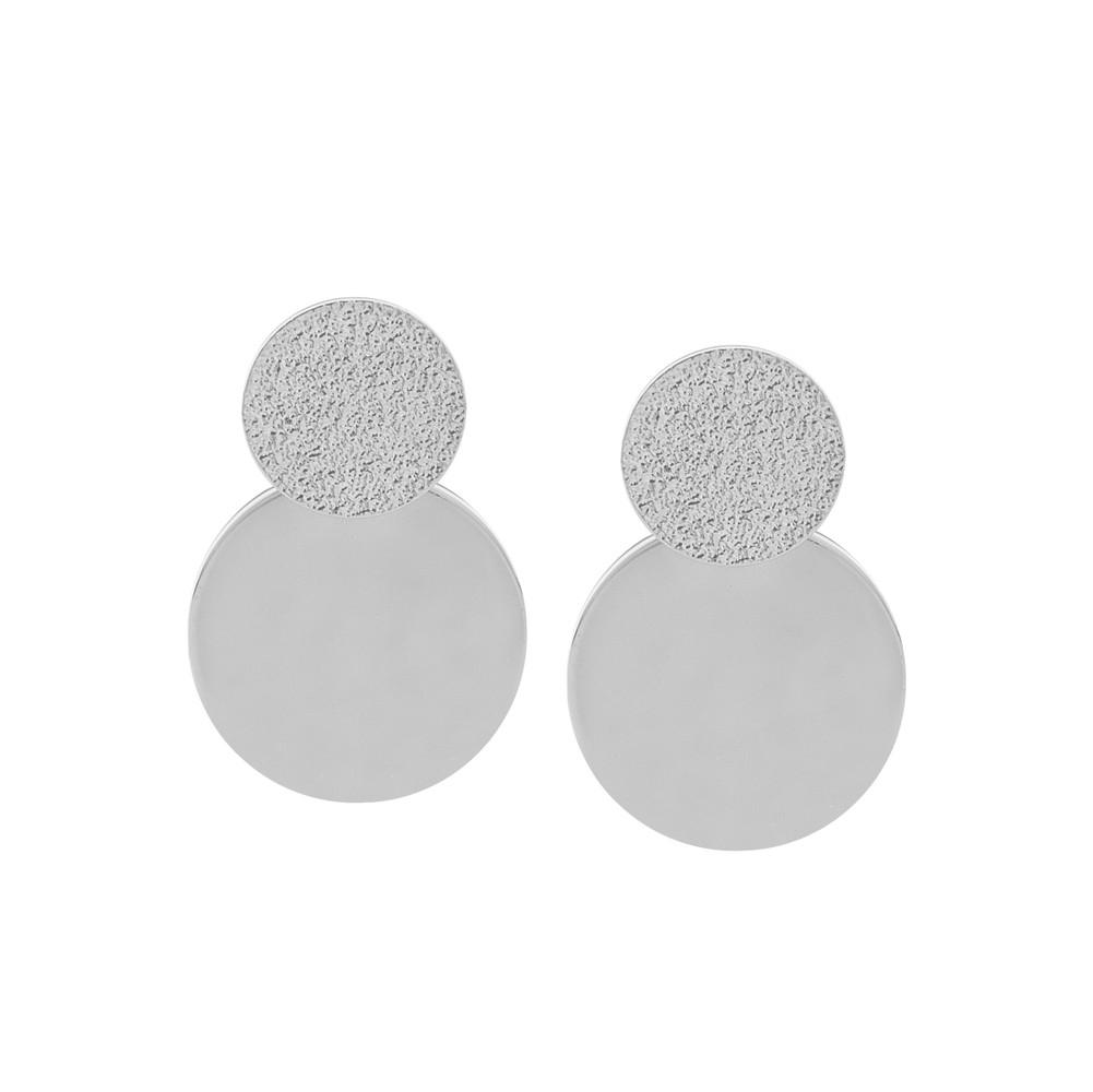 Lynx Coin Pendant Earring