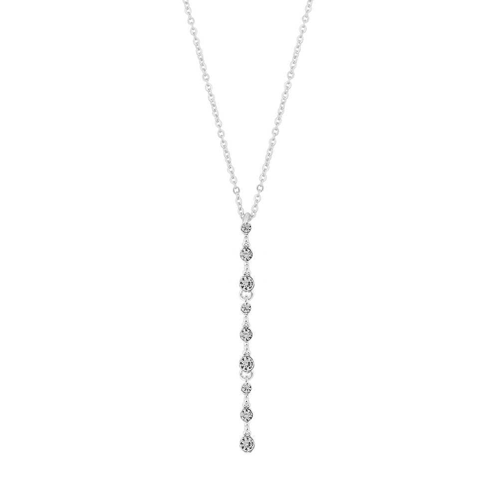 Charlene Long Pendant Necklace