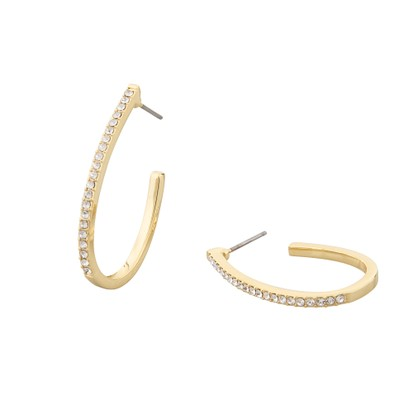 Corinne Big Oval Earring