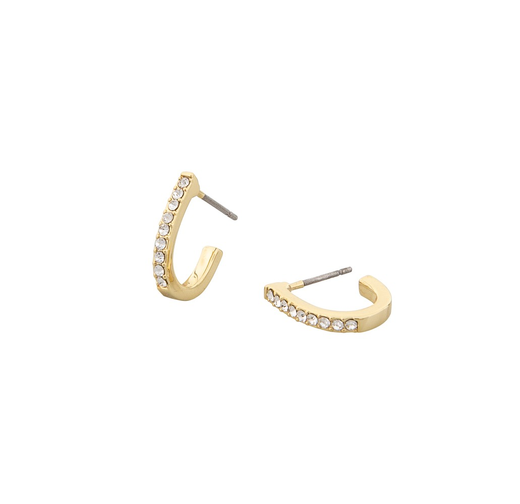 Corinne Small Oval Earring
