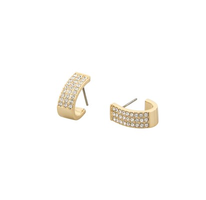 Corinne Small Wide Oval Earring