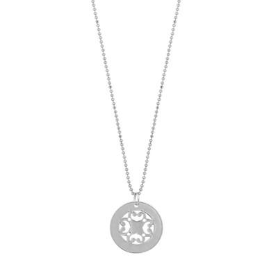 Rimii Round Pendant Necklace