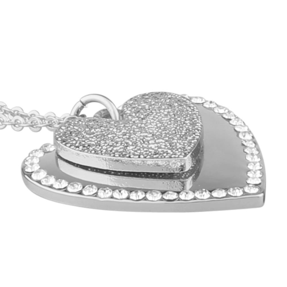 Mii Double Pendant Necklace