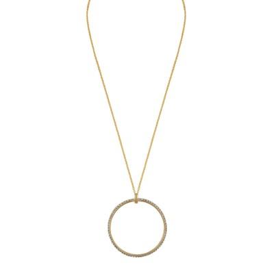 Gwen Big Pendant Necklace
