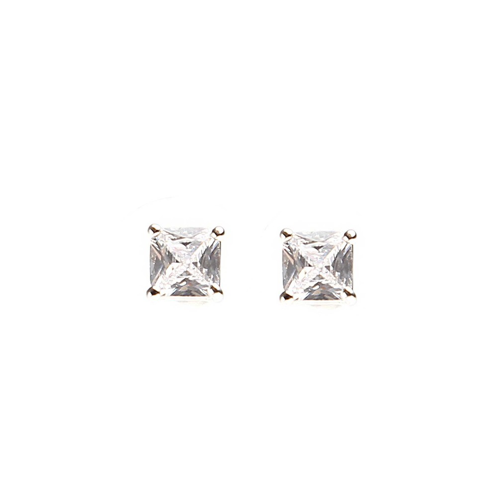 Lady Small Square Earring