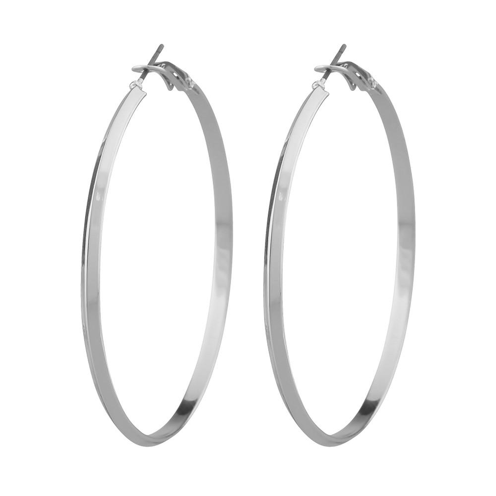 Gwen Big Ring Earring