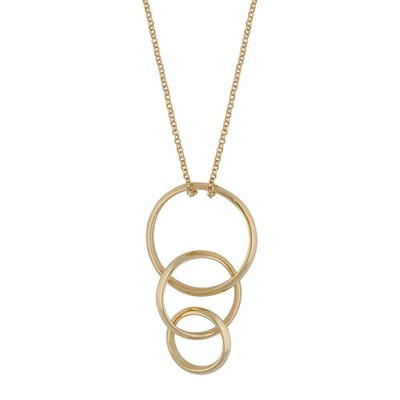 Gwen Ring Pendant Necklace