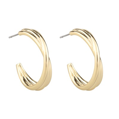 Helena Big Oval Earring