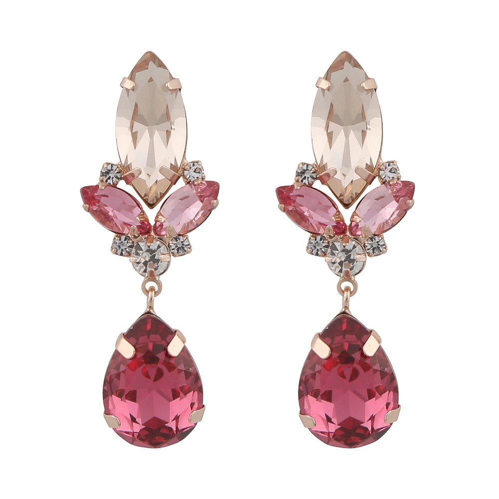 Luisa Big Pendant Earring
